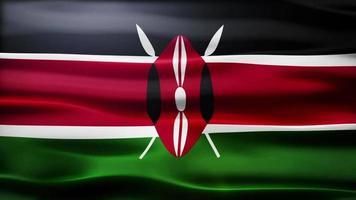 lazo de la bandera de Kenia