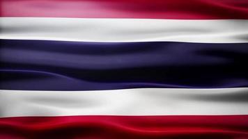 lazo de la bandera de tailandia