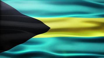 lazo de la bandera de bahamas