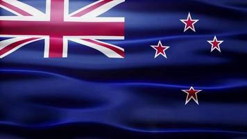 lazo de la bandera de nueva zelanda video