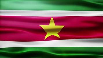 lazo de la bandera de surinam