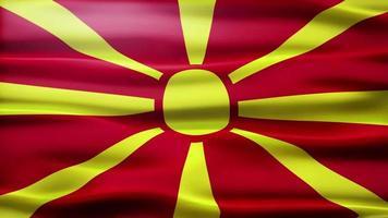 lazo de la bandera de macedonia