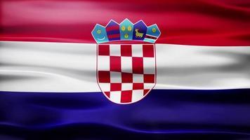 lazo de la bandera de croacia