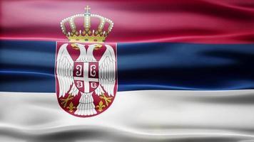 lazo de la bandera de serbia