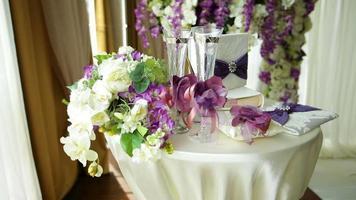 mesa para cerimônia de casamento video