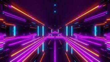 futuristico tunnel di fantascienza