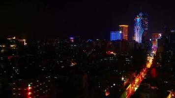 cidade de macau, china video