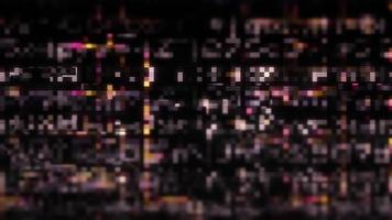 visualizzazione della schermata di malfunzionamento dei dati in streaming video