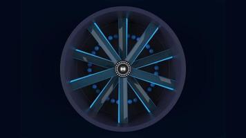 Light Blue Fan  video