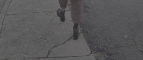 caminando por la ciudad