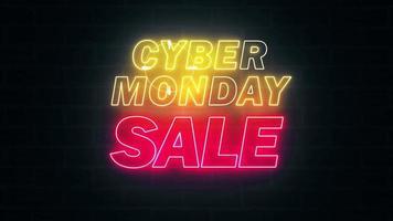 venda cibernética segunda-feira video