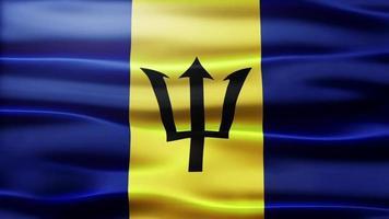 lazo de la bandera de barbados