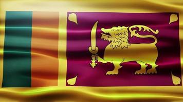 boucle de drapeau du Sri Lanka