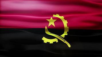 lazo de la bandera de angola