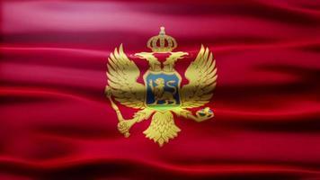 lazo de la bandera de montenegro