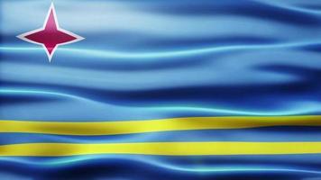 lazo de la bandera de aruba