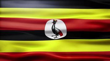 lazo de la bandera de uganda