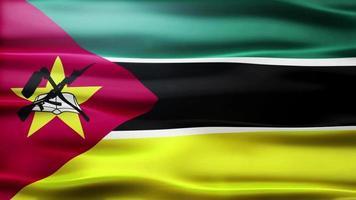 lazo de la bandera de mozambique