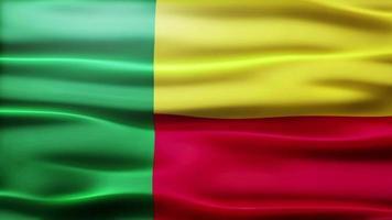 lazo de la bandera de benin