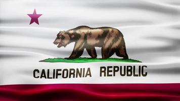 boucle de drapeau californien