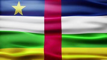 lazo de la bandera de la república de áfrica central