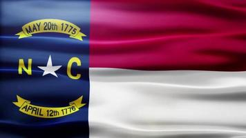 North Carolina Flag Loop