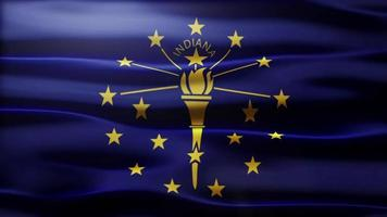 Indiana Flag Loop