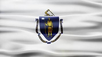 Massachusetts Flag Loop