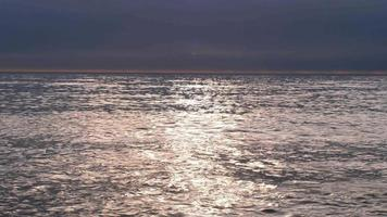 Horizon Line by Calm Seawater
