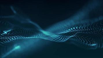 plexo azul abstrato video