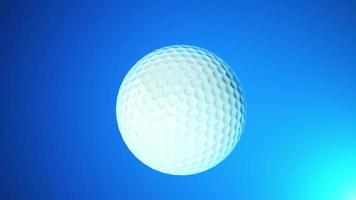 Golf Ball Rotating Intro Background