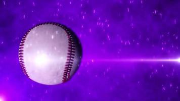 introdução de fundo de beisebol video