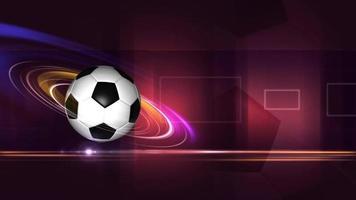 plantilla de fútbol dinámico video