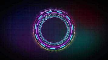 holograma equalizador de música video