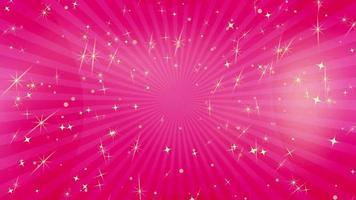 glitzernde Sterne Tapete