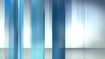 fundo abstrato de cortinas móveis video