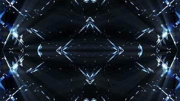 fondo de luces futuristas intermitentes