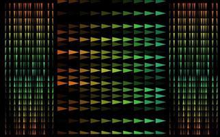 motif de triangle mixte coloré video