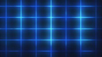 fundo de grade digital azul