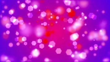 hermosas luces bokeh sobre fondo de colores