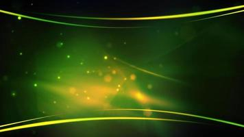 Abstract green particles background