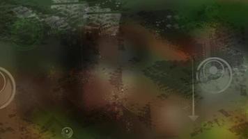 setas de fundo de animação video