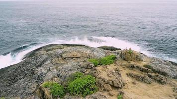 Phrom Thep Cape, Andaman sea, Thailand. video