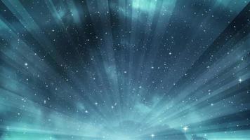estrellas fugaces y cielo de fantasía