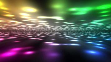 fondo de luces de colores brillantes
