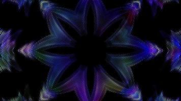 colorido diseño de estrella parpadeante