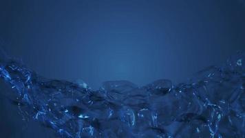 fundo de malha de tecido transparente fluindo