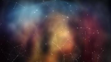 plex molecolare 4K movimento sfondo loop