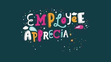 día de agradecimiento a los empleados!