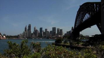 horizonte y puente de sydney video